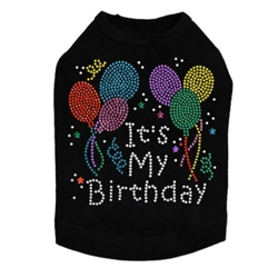 Its My Birthday Tee in Many Colors wooflink, susan lanci, dog clothes, small dog clothes, urban pup, pooch outfitters, dogo, hip doggie, doggie design, small dog dress, pet clotes, dog boutique. pet boutique, bloomingtails dog boutique, dog raincoat, dog rain coat, pet raincoat, dog shampoo, pet shampoo, dog bathrobe, pet bathrobe, dog carrier, small dog carrier, doggie couture, pet couture, dog football, dog toys, pet toys, dog clothes sale, pet clothes sale, shop local, pet store, dog store, dog chews, pet chews, worthy dog, dog bandana, pet bandana, dog halloween, pet halloween, dog holiday, pet holiday, dog teepee, custom dog clothes, pet pjs, dog pjs, pet pajamas, dog pajamas,dog sweater, pet sweater, dog hat, fabdog, fab dog, dog puffer coat, dog winter jacket, dog col