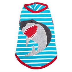 Jaws Tee wooflink, susan lanci, dog clothes, small dog clothes, urban pup, pooch outfitters, dogo, hip doggie, doggie design, small dog dress, pet clotes, dog boutique. pet boutique, bloomingtails dog boutique, dog raincoat, dog rain coat, pet raincoat, dog shampoo, pet shampoo, dog bathrobe, pet bathrobe, dog carrier, small dog carrier, doggie couture, pet couture, dog football, dog toys, pet toys, dog clothes sale, pet clothes sale, shop local, pet store, dog store, dog chews, pet chews, worthy dog, dog bandana, pet bandana, dog halloween, pet halloween, dog holiday, pet holiday, dog teepee, custom dog clothes, pet pjs, dog pjs, pet pajamas, dog pajamas,dog sweater, pet sweater, dog hat, fabdog, fab dog, dog puffer coat, dog winter jacket, dog col