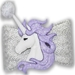 Dog Bows - Lavender Moon - hb-lavmoon