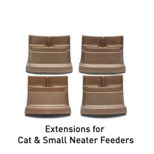 Leg extensions for Neater Feeder Bowl System - nf-legsL-7SF