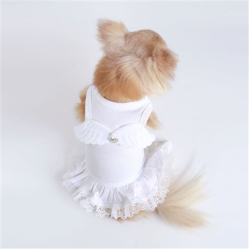 Lil Angel Dress wooflink, susan lanci, dog clothes, small dog clothes, urban pup, pooch outfitters, dogo, hip doggie, doggie design, small dog dress, pet clotes, dog boutique. pet boutique, bloomingtails dog boutique, dog raincoat, dog rain coat, pet raincoat, dog shampoo, pet shampoo, dog bathrobe, pet bathrobe, dog carrier, small dog carrier, doggie couture, pet couture, dog football, dog toys, pet toys, dog clothes sale, pet clothes sale, shop local, pet store, dog store, dog chews, pet chews, worthy dog, dog bandana, pet bandana, dog halloween, pet halloween, dog holiday, pet holiday, dog teepee, custom dog clothes, pet pjs, dog pjs, pet pajamas, dog pajamas,dog sweater, pet sweater, dog hat, fabdog, fab dog, dog puffer coat, dog winter jacket, dog col