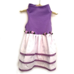 Lilac Cotton Jersey Dog Dress wooflink, susan lanci, dog clothes, small dog clothes, urban pup, pooch outfitters, dogo, hip doggie, doggie design, small dog dress, pet clotes, dog boutique. pet boutique, bloomingtails dog boutique, dog raincoat, dog rain coat, pet raincoat, dog shampoo, pet shampoo, dog bathrobe, pet bathrobe, dog carrier, small dog carrier, doggie couture, pet couture, dog football, dog toys, pet toys, dog clothes sale, pet clothes sale, shop local, pet store, dog store, dog chews, pet chews, worthy dog, dog bandana, pet bandana, dog halloween, pet halloween, dog holiday, pet holiday, dog teepee, custom dog clothes, pet pjs, dog pjs, pet pajamas, dog pajamas,dog sweater, pet sweater, dog hat, fabdog, fab dog, dog puffer coat, dog winter jacket, dog col