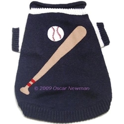 Truly Oscar Newman - Little League Dog Sweater kosher, hanukkah, toy, jewish, toy, puppy bed,  beds,dog mat, pet mat, puppy mat, fab dog pet sweater, dog swepet clothes, dog clothes, puppy clothes, pet store, dog store, puppy boutique store, dog boutique, pet boutique, puppy boutique, Bloomingtails, dog, small dog clothes, large dog clothes, large dog costumes, small dog costumes, pet stuff, Halloween dog, puppy Halloween, pet Halloween, clothes, dog puppy Halloween, dog sale, pet sale, puppy sale, pet dog tank, pet tank, pet shirt, dog shirt, puppy shirt,puppy tank, I see spot, dog collars, dog leads, pet collar, pet lead,puppy collar, puppy lead, dog toys, pet toys, puppy toy, dog beds, pet beds, puppy bed,  beds,dog mat, pet mat, puppy mat, fab dog pet sweater, dog sweater, dog winte