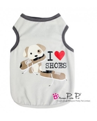Love Shoes Pet Tank Roxy & Lulu, wooflink, susan lanci, dog clothes, small dog clothes, urban pup, pooch outfitters, dogo, hip doggie, doggie design, small dog dress, pet clotes, dog boutique. pet boutique, bloomingtails dog boutique, dog raincoat, dog rain coat, pet raincoat, dog shampoo, pet shampoo, dog bathrobe, pet bathrobe, dog carrier, small dog carrier, doggie couture, pet couture, dog football, dog toys, pet toys, dog clothes sale, pet clothes sale, shop local, pet store, dog store, dog chews, pet chews, worthy dog, dog bandana, pet bandana, dog halloween, pet halloween, dog holiday, pet holiday, dog teepee, custom dog clothes, pet pjs, dog pjs, pet pajamas, dog pajamas,dog sweater, pet sweater, dog hat, fabdog, fab dog, dog puffer coat, dog winter ja