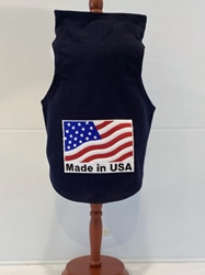 Made In The USA Tank-Several Colors Roxy & Lulu, wooflink, susan lanci, dog clothes, small dog clothes, urban pup, pooch outfitters, dogo, hip doggie, doggie design, small dog dress, pet clotes, dog boutique. pet boutique, bloomingtails dog boutique, dog raincoat, dog rain coat, pet raincoat, dog shampoo, pet shampoo, dog bathrobe, pet bathrobe, dog carrier, small dog carrier, doggie couture, pet couture, dog football, dog toys, pet toys, dog clothes sale, pet clothes sale, shop local, pet store, dog store, dog chews, pet chews, worthy dog, dog bandana, pet bandana, dog halloween, pet halloween, dog holiday, pet holiday, dog teepee, custom dog clothes, pet pjs, dog pjs, pet pajamas, dog pajamas,dog sweater, pet sweater, dog hat, fabdog, fab dog, dog puffer coat, dog winter ja