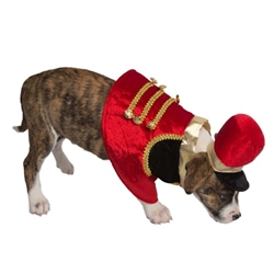 Holiday Nutcracker Soldier Dog Costume Roxy & Lulu, wooflink, susan lanci, dog clothes, small dog clothes, urban pup, pooch outfitters, dogo, hip doggie, doggie design, small dog dress, pet clotes, dog boutique. pet boutique, bloomingtails dog boutique, dog raincoat, dog rain coat, pet raincoat, dog shampoo, pet shampoo, dog bathrobe, pet bathrobe, dog carrier, small dog carrier, doggie couture, pet couture, dog football, dog toys, pet toys, dog clothes sale, pet clothes sale, shop local, pet store, dog store, dog chews, pet chews, worthy dog, dog bandana, pet bandana, dog halloween, pet halloween, dog holiday, pet holiday, dog teepee, custom dog clothes, pet pjs, dog pjs, pet pajamas, dog pajamas,dog sweater, pet sweater, dog hat, fabdog, fab dog, dog puffer coat, dog winter ja