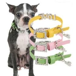 Nymph Dog Collar  dog bowls,susan lanci, puppia,wooflink, luxury dog boutique,tonimari,pet clothes, dog clothes, puppy clothes, pet store, dog store, puppy boutique store, dog boutique, pet boutique, puppy boutique, Bloomingtails, dog, small dog clothes, large dog clothes, large dog costumes, small dog costumes, pet stuff, Halloween dog, puppy Halloween, pet Halloween, clothes, dog puppy Halloween, dog sale, pet sale, puppy sale, pet dog tank, pet tank, pet shirt, dog shirt, puppy shirt,puppy tank, I see spot, dog collars, dog leads, pet collar, pet lead,puppy collar, puppy lead, dog toys, pet toys, puppy toy, dog beds, pet beds, puppy bed,  beds,dog mat, pet mat, puppy mat, fab dog pet sweater, dog sweater, dog winter, pet winter,dog raincoat, pet raincoat