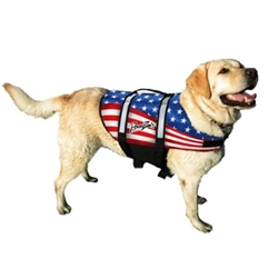 Flag Dog Life Jacket