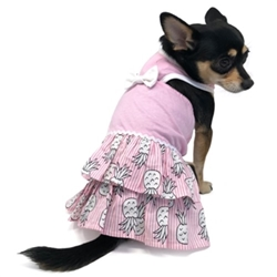 Pineapple Dress  dog bowls,susan lanci, puppia,wooflink, luxury dog boutique,tonimari,pet clothes, dog clothes, puppy clothes, pet store, dog store, puppy boutique store, dog boutique, pet boutique, puppy boutique, Bloomingtails, dog, small dog clothes, large dog clothes, large dog costumes, small dog costumes, pet stuff, Halloween dog, puppy Halloween, pet Halloween, clothes, dog puppy Halloween, dog sale, pet sale, puppy sale, pet dog tank, pet tank, pet shirt, dog shirt, puppy shirt,puppy tank, I see spot, dog collars, dog leads, pet collar, pet lead,puppy collar, puppy lead, dog toys, pet toys, puppy toy, dog beds, pet beds, puppy bed,  beds,dog mat, pet mat, puppy mat, fab dog pet sweater, dog sweater, dog winter, pet winter,dog raincoat, pet raincoat