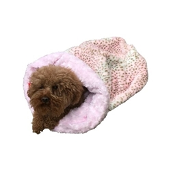Pink Leopard Plush Cozy Sak Roxy & Lulu, wooflink, susan lanci, dog clothes, small dog clothes, urban pup, pooch outfitters, dogo, hip doggie, doggie design, small dog dress, pet clotes, dog boutique. pet boutique, bloomingtails dog boutique, dog raincoat, dog rain coat, pet raincoat, dog shampoo, pet shampoo, dog bathrobe, pet bathrobe, dog carrier, small dog carrier, doggie couture, pet couture, dog football, dog toys, pet toys, dog clothes sale, pet clothes sale, shop local, pet store, dog store, dog chews, pet chews, worthy dog, dog bandana, pet bandana, dog halloween, pet halloween, dog holiday, pet holiday, dog teepee, custom dog clothes, pet pjs, dog pjs, pet pajamas, dog pajamas,dog sweater, pet sweater, dog hat, fabdog, fab dog, dog puffer coat, dog winter ja