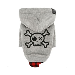 Do Not Touch Pirate Hoodie in 3 Colors by Puppy Angel Roxy & Lulu, wooflink, susan lanci, dog clothes, small dog clothes, urban pup, pooch outfitters, dogo, hip doggie, doggie design, small dog dress, pet clotes, dog boutique. pet boutique, bloomingtails dog boutique, dog raincoat, dog rain coat, pet raincoat, dog shampoo, pet shampoo, dog bathrobe, pet bathrobe, dog carrier, small dog carrier, doggie couture, pet couture, dog football, dog toys, pet toys, dog clothes sale, pet clothes sale, shop local, pet store, dog store, dog chews, pet chews, worthy dog, dog bandana, pet bandana, dog halloween, pet halloween, dog holiday, pet holiday, dog teepee, custom dog clothes, pet pjs, dog pjs, pet pajamas, dog pajamas,dog sweater, pet sweater, dog hat, fabdog, fab dog, dog puffer coat, dog winter ja