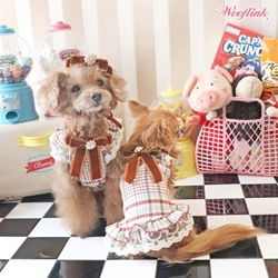Plaid Mini Dress by Wooflink wooflink, susan lanci, dog clothes, small dog clothes, urban pup, pooch outfitters, dogo, hip doggie, doggie design, small dog dress, pet clotes, dog boutique. pet boutique, bloomingtails dog boutique, dog raincoat, dog rain coat, pet raincoat, dog shampoo, pet shampoo, dog bathrobe, pet bathrobe, dog carrier, small dog carrier, doggie couture, pet couture, dog football, dog toys, pet toys, dog clothes sale, pet clothes sale, shop local, pet store, dog store, dog chews, pet chews, worthy dog, dog bandana, pet bandana, dog halloween, pet halloween, dog holiday, pet holiday, dog teepee, custom dog clothes, pet pjs, dog pjs, pet pajamas, dog pajamas,dog sweater, pet sweater, dog hat, fabdog, fab dog, dog puffer coat, dog winter jacket, dog col