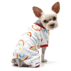 Rainbow Pjs Roxy & Lulu, wooflink, susan lanci, dog clothes, small dog clothes, urban pup, pooch outfitters, dogo, hip doggie, doggie design, small dog dress, pet clotes, dog boutique. pet boutique, bloomingtails dog boutique, dog raincoat, dog rain coat, pet raincoat, dog shampoo, pet shampoo, dog bathrobe, pet bathrobe, dog carrier, small dog carrier, doggie couture, pet couture, dog football, dog toys, pet toys, dog clothes sale, pet clothes sale, shop local, pet store, dog store, dog chews, pet chews, worthy dog, dog bandana, pet bandana, dog halloween, pet halloween, dog holiday, pet holiday, dog teepee, custom dog clothes, pet pjs, dog pjs, pet pajamas, dog pajamas,dog sweater, pet sweater, dog hat, fabdog, fab dog, dog puffer coat, dog winter ja