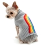 Rainbow Turtleneck Sweater Roxy & Lulu, wooflink, susan lanci, dog clothes, small dog clothes, urban pup, pooch outfitters, dogo, hip doggie, doggie design, small dog dress, pet clotes, dog boutique. pet boutique, bloomingtails dog boutique, dog raincoat, dog rain coat, pet raincoat, dog shampoo, pet shampoo, dog bathrobe, pet bathrobe, dog carrier, small dog carrier, doggie couture, pet couture, dog football, dog toys, pet toys, dog clothes sale, pet clothes sale, shop local, pet store, dog store, dog chews, pet chews, worthy dog, dog bandana, pet bandana, dog halloween, pet halloween, dog holiday, pet holiday, dog teepee, custom dog clothes, pet pjs, dog pjs, pet pajamas, dog pajamas,dog sweater, pet sweater, dog hat, fabdog, fab dog, dog puffer coat, dog winter ja