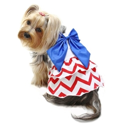 Red White & Blue Large Bow Sundress Roxy & Lulu, wooflink, susan lanci, dog clothes, small dog clothes, urban pup, pooch outfitters, dogo, hip doggie, doggie design, small dog dress, pet clotes, dog boutique. pet boutique, bloomingtails dog boutique, dog raincoat, dog rain coat, pet raincoat, dog shampoo, pet shampoo, dog bathrobe, pet bathrobe, dog carrier, small dog carrier, doggie couture, pet couture, dog football, dog toys, pet toys, dog clothes sale, pet clothes sale, shop local, pet store, dog store, dog chews, pet chews, worthy dog, dog bandana, pet bandana, dog halloween, pet halloween, dog holiday, pet holiday, dog teepee, custom dog clothes, pet pjs, dog pjs, pet pajamas, dog pajamas,dog sweater, pet sweater, dog hat, fabdog, fab dog, dog puffer coat, dog winter ja