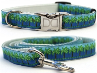 South Beach Dog Collar & Lead Collection