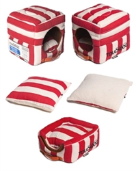 Touchdog Polo Striped Convertible Bed in 3 Colors Roxy & Lulu, wooflink, susan lanci, dog clothes, small dog clothes, urban pup, pooch outfitters, dogo, hip doggie, doggie design, small dog dress, pet clotes, dog boutique. pet boutique, bloomingtails dog boutique, dog raincoat, dog rain coat, pet raincoat, dog shampoo, pet shampoo, dog bathrobe, pet bathrobe, dog carrier, small dog carrier, doggie couture, pet couture, dog football, dog toys, pet toys, dog clothes sale, pet clothes sale, shop local, pet store, dog store, dog chews, pet chews, worthy dog, dog bandana, pet bandana, dog halloween, pet halloween, dog holiday, pet holiday, dog teepee, custom dog clothes, pet pjs, dog pjs, pet pajamas, dog pajamas,dog sweater, pet sweater, dog hat, fabdog, fab dog, dog puffer coat, dog winter ja