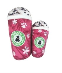 Starbarks Peppermint Mocha Toy wooflink, susan lanci, dog clothes, small dog clothes, urban pup, pooch outfitters, dogo, hip doggie, doggie design, small dog dress, pet clotes, dog boutique. pet boutique, bloomingtails dog boutique, dog raincoat, dog rain coat, pet raincoat, dog shampoo, pet shampoo, dog bathrobe, pet bathrobe, dog carrier, small dog carrier, doggie couture, pet couture, dog football, dog toys, pet toys, dog clothes sale, pet clothes sale, shop local, pet store, dog store, dog chews, pet chews, worthy dog, dog bandana, pet bandana, dog halloween, pet halloween, dog holiday, pet holiday, dog teepee, custom dog clothes, pet pjs, dog pjs, pet pajamas, dog pajamas,dog sweater, pet sweater, dog hat, fabdog, fab dog, dog puffer coat, dog winter jacket, dog col