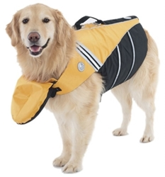 Sunset Yellow Flotation Device  dog bowls,susan lanci, puppia,wooflink, luxury dog boutique,tonimari,pet clothes, dog clothes, puppy clothes, pet store, dog store, puppy boutique store, dog boutique, pet boutique, puppy boutique, Bloomingtails, dog, small dog clothes, large dog clothes, large dog costumes, small dog costumes, pet stuff, Halloween dog, puppy Halloween, pet Halloween, clothes, dog puppy Halloween, dog sale, pet sale, puppy sale, pet dog tank, pet tank, pet shirt, dog shirt, puppy shirt,puppy tank, I see spot, dog collars, dog leads, pet collar, pet lead,puppy collar, puppy lead, dog toys, pet toys, puppy toy, dog beds, pet beds, puppy bed,  beds,dog mat, pet mat, puppy mat, fab dog pet sweater, dog sweater, dog winter, pet winter,dog raincoat, pet raincoat