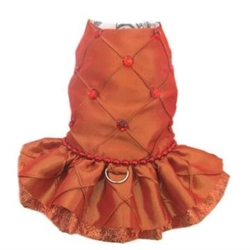 Tangerine Dream Harness Dress Roxy & Lulu, wooflink, susan lanci, dog clothes, small dog clothes, urban pup, pooch outfitters, dogo, hip doggie, doggie design, small dog dress, pet clotes, dog boutique. pet boutique, bloomingtails dog boutique, dog raincoat, dog rain coat, pet raincoat, dog shampoo, pet shampoo, dog bathrobe, pet bathrobe, dog carrier, small dog carrier, doggie couture, pet couture, dog football, dog toys, pet toys, dog clothes sale, pet clothes sale, shop local, pet store, dog store, dog chews, pet chews, worthy dog, dog bandana, pet bandana, dog halloween, pet halloween, dog holiday, pet holiday, dog teepee, custom dog clothes, pet pjs, dog pjs, pet pajamas, dog pajamas,dog sweater, pet sweater, dog hat, fabdog, fab dog, dog puffer coat, dog winter ja