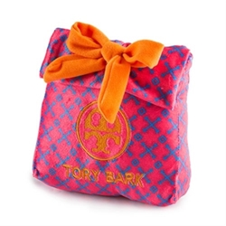 Tory Bark Gift Bag Toy  dog bowls,susan lanci, puppia,wooflink, luxury dog boutique,tonimari,pet clothes, dog clothes, puppy clothes, pet store, dog store, puppy boutique store, dog boutique, pet boutique, puppy boutique, Bloomingtails, dog, small dog clothes, large dog clothes, large dog costumes, small dog costumes, pet stuff, Halloween dog, puppy Halloween, pet Halloween, clothes, dog puppy Halloween, dog sale, pet sale, puppy sale, pet dog tank, pet tank, pet shirt, dog shirt, puppy shirt,puppy tank, I see spot, dog collars, dog leads, pet collar, pet lead,puppy collar, puppy lead, dog toys, pet toys, puppy toy, dog beds, pet beds, puppy bed,  beds,dog mat, pet mat, puppy mat, fab dog pet sweater, dog sweater, dog winter, pet winter,dog raincoat, pet raincoat