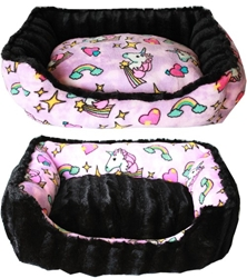 Unicorn Dog Bed in Pink