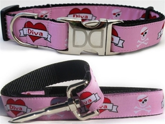 Valentine Dog Collar & Lead Collection