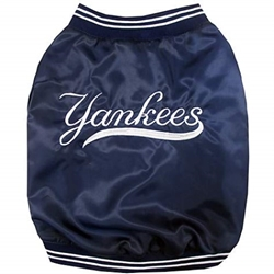 NY Yankees Dugout Jacket wooflink, susan lanci, dog clothes, small dog clothes, urban pup, pooch outfitters, dogo, hip doggie, doggie design, small dog dress, pet clotes, dog boutique. pet boutique, bloomingtails dog boutique, dog raincoat, dog rain coat, pet raincoat, dog shampoo, pet shampoo, dog bathrobe, pet bathrobe, dog carrier, small dog carrier, doggie couture, pet couture, dog football, dog toys, pet toys, dog clothes sale, pet clothes sale, shop local, pet store, dog store, dog chews, pet chews, worthy dog, dog bandana, pet bandana, dog halloween, pet halloween, dog holiday, pet holiday, dog teepee, custom dog clothes, pet pjs, dog pjs, pet pajamas, dog pajamas,dog sweater, pet sweater, dog hat, fabdog, fab dog, dog puffer coat, dog winter jacket, dog col